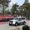 京都府警年頭視閲式その3