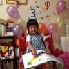 娘、3歳に。