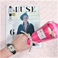 高級感あふれるミッキーの腕時計が付録に!オトナミューズ6月号は、一目ぼれで迷わず買っちゃうレベルです♪
