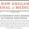 冠動脈CTA検査と負荷心筋シンチなどの機能的検査の比較