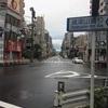 台風一過、普通の朝です