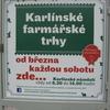 プラハ・カルリーンファーマーズマーケット(Karlinske farmarske trhy)とマグロ小分け