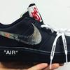 【速報】Nike x OFF-WHITE™のコラボ「Air Force 1」のビジュアルを公開