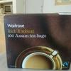 Waitroseの紅茶 アッサムティーバッグ