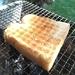 炭火で焼くパンは美味い。