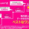 楽天モバイル、月額0円からの「Rakuten UN-LIMIT VI」発表 1GB以下0円/~3GB 980円/~20GB 1980円/20GB以上無制限2980円に