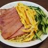 冷やし中華の麺はラーメンの麺と同じ!? タレは手作りが激うま。