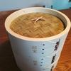 照宝の蒸籠(セイロ)でサツマイモ