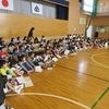 1年生:学習発表会の練習@体育館