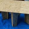 趣味 DIY#025 クロスレッグテーブル作業台
