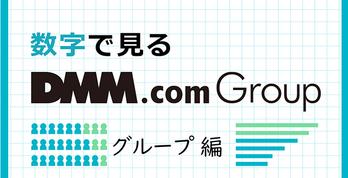 数字で見るDMM -グループ編-