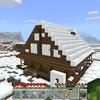 【マイクラ】雪の村を壊して雪国の家を作る方法!! #32