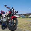 125ccで東京から山口まで自走しようとするライダー