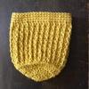 麻ひもで編むミニバッグ 夏に向けて麻ひもを編み始めました。内藤商事「JUTE」使用