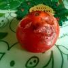 熟れすぎた柿を捨てないで!おいしいおやつ柿のムースにしていただきます。