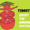 トマトで免疫力アップ