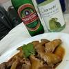 香港地元飯、熟食中心:ハトの鹵水、小イカともやしの炒め物、香港基本の焼きそばと溢れんばかりのアイゴ愛(Ap Lei Chau)