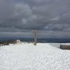 雪山練習登山 積雪期の六甲山?に初アイゼンで挑む