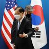 (韓国反応) 米国は「北非核化」、韓国は「韓半島非核化」 表現をめぐって摩擦