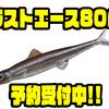【EVERGREEN】エラストマー素材に変更された「ラストエース80F」通販予約受付中!