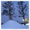 年末年始のおやすみと、3歳児との雪遊び