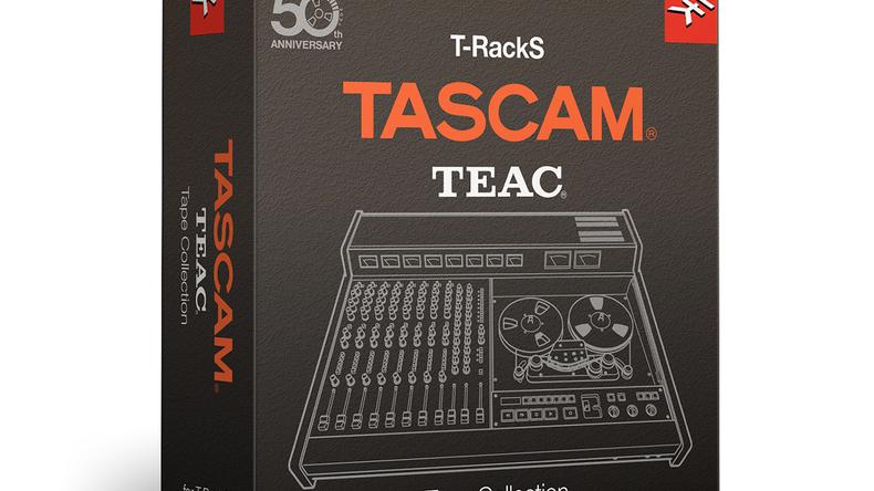 IK MULTIMEDIAがTASCAMのアナログ・テープ・レコーダーをプラグイン化