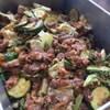 豚肉とキャベツ、ズッキーニのスタミナ炒め
