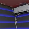 HoloLensが認識した空間から、床や壁、天井などの平面を検出する