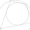 円に内接もするし外接もする四角形