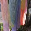 虹染めの会を開催しました