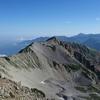 薬師岳・山頂展望 2016年8月7日