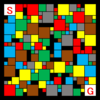 コラボ迷路:問題5-『大中小迷路』×『六色三色迷路』