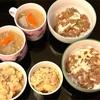 おうちごはん 納豆山芋おくら丼・ポテトサラダ・豚汁