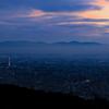 京都・東山 - 東山から望む 霞かかる京都