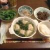 今日の夕食 水餃子