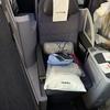 ユナイテッド航空ビジネスクラスUA035便 サンフランシスコ→関空