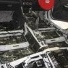 スバルWRXのロードノイズ低減対策・フロア防音デッドニング