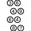 【算数なぞなぞ】3 6 4 9 6 4 8 ?のハテナにはどんな数字が入るのだろう
