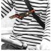 ボディバッグのズリ落ち防止(クロスストラップ)を100均グッズで代用|自転車用におすすめ