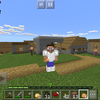 iPod touch(第六世代)で『Minecraft: Pocket Edition』をプレイ中