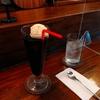 珈琲フロートと黒糖プリン