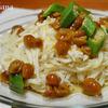 長芋素麺と野菜タップリチキンロール♬