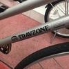 27年前に買った折りたたみ自転車。でも超きれいでした!