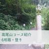 【高尾山】6号路登り~水と木陰のコース~