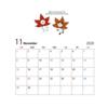 月1カレンダー無料配布