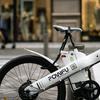 都会の自転車