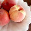桃の季節になりました
