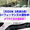 【株式】週間運用パフォーマンス&保有株一覧(2020.5.29時点) ようやく含み損解消!