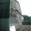 外壁5m付近の簡易足場仮設