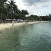シンガポール21:シロソビーチでハプニング!!お洋服が・・・